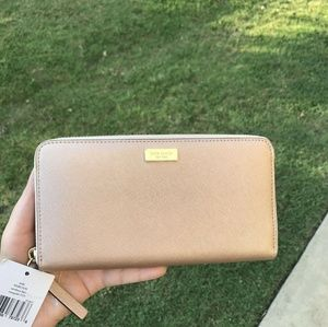 Kate Spade Wlru1498 Newbury Lane Neda Zip Wallet